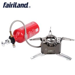 Wholesale Multi Fuel Camping - 3000W portable multi fuel stove oil gas burner w  500ml fuel bottle propane butane gas stove furnace Cooker for outdoor camping hiking