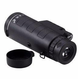 Wholesale Night Vision Zoom Telescope - Factory Direct! Universal 10x40 Hiking Concert Camera Lens Zoom Phone Telescope Camera Lens Phone Holder For Smartphone DHL free shipping