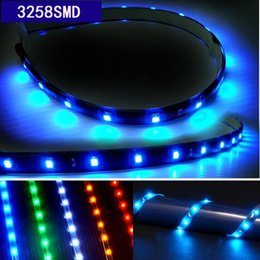 Wholesale Decorative Car Interiors - Wholesale 30cm 15LED 3528SMD car led lights strips Decorative lighting waterproof LED Interior Underdash Lighting 5colors