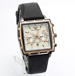 Wholesale Men Classic Square Watches - 2017 Business Men Watch Top Brand Luxury Watches Men Clock Classic Fashion Wristwatch Male Quartz-Watch Reloj Hombre