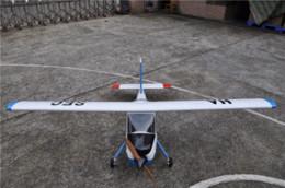 """Wholesale Gas Engine Rc Model - Large Balsa Wood RC Airplane Model 89"""" PZL-104 Wilga V2 30cc Gas Engine RC Plane Cheap v2"""