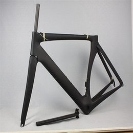 Wholesale Carbon Frameset 58cm - chinese S5 carbon frame UD frameset t1000 700C road carbon frames size 44 58cm cheap carbon frame road bike frameset