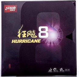 Wholesale Dhs Rubber Tennis Table Hurricane - Wholesale Original DHS Hurricane 8 Table Tennis Rubber  Ping pong rubber Free Shipping