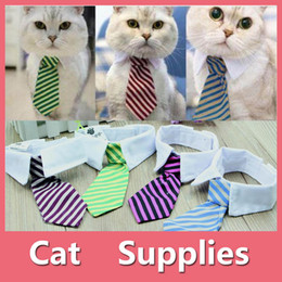 Wholesale Wholesale Bow Ties For Dogs - Gentleman Pet Supplies Puppy Necktie Small Dog Clothes Tie for Dog Cat Costumes With 5 Colors