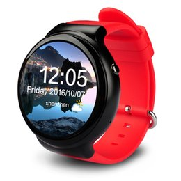 Wholesale I4 Pro Smart Watch Android GPS WIFI SIM Bluetooth GB RAM GB ROM AMOLED Screen MTK6580 Smartwatch Support Android iOS Watches pc