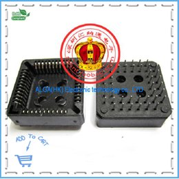 Wholesale Ic Socket Dip - Wholesale-Free shipping .DIP pin DIP socket box PLCC44 IC socket pin test socket Block