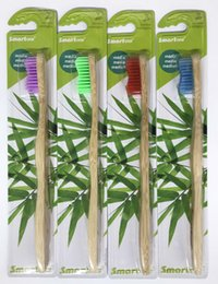 Wholesale Nylon Toothbrush Bristles - Smartoral brand Progessional OEM high quality Bamboo toothbrush, adult, nylon bristles