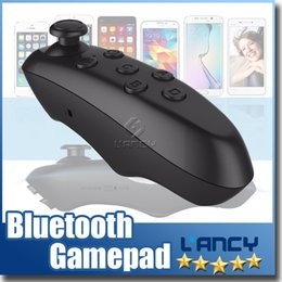 Wholesale Joystick Mouse Wireless - Universal Bluetooth Remote Controller wireless Gamepad Mouse Mini Wireless joystick For iPhone For Samsung Android IOS VR BOX