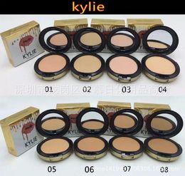 Wholesale Controlled Power Ups - kylie jenner face power Kylie face powder profession makeup Studio Fix Powder Plus Foundation press make up face powder 8 colors