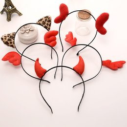 cadono accessori per i capelli neri Sconti Regali di Natale all'ingrosso hoilday bellissimi gioielli per capelli fasce per ragazze o bambini