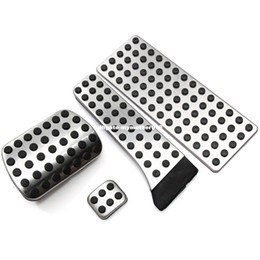 Wholesale W211 Mercedes - Stainless steel pedal AT for Mercedes Benz C E S GLK SLK CLS SL-Class W203 W204 W211 W212W210 AMG,accelerator brake footrest pad
