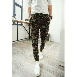 Wholesale Star Trousers Pants - Wholesale-Men's Star Printing Hip Hop Sweat Pants Harem Dance Jogger Baggy Trousers Slacks Men Pants Man Trousers Joggers