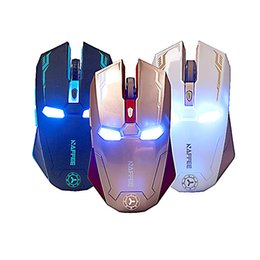 Wholesale New Gaming Mouse - New Design 2400DPI 3 Color LED Optical Adjustable USB Wired Gaming Mouse for Laptop PC High Performance NaF G5S