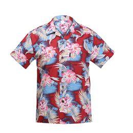 Wholesale Men Fancy Shirts - Wholesale-Men's Hawaiian Shirts cocktail girl jade Cotton Large Plus Size Shirt Fancy Dress Shirts For Men chemise homme camisa