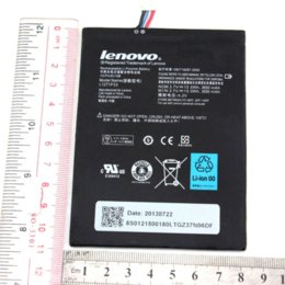 Wholesale Galaxy S3 External Battery Covers - New Genuine L12T1P33 Battery 3.7V 3650mAh for Lenovo ideaTab A1000,A3000,A1010-T battery cover galaxy s3 battery shelf