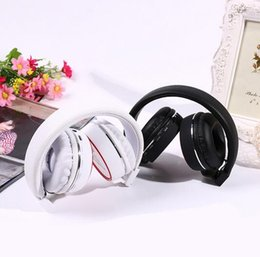 Wholesale Over Ear Headphones Hd - SH10 Foldable Wireless Bluetooth Headset Over-ear Stereo Headphone Earphones with HD Micro FM Radio & TF Card Slot free shipping