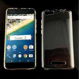 Argentina Wiko Lenny 2 cubierta del teléfono transparente TPU claro caso de cristal suave TPU Gel para Wiko Lenny2 5 pulgadas de alta calidad Suministro