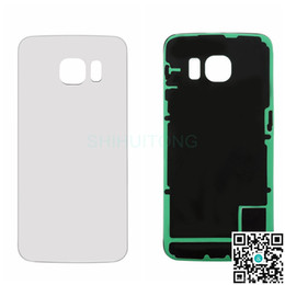 Wholesale Cell Phone Original Housing - Battery Back Housing Covers for Samsung Galaxy S6 G925 Original Cell Phone Repair Parts for Samsung S6 S6G925BBHC
