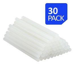 "Wholesale Wholesale Glue Gun Sticks - All Purpose Hot Glue Gun Sticks - Extra long all Temperature 7 16"" Diameter and 10"" Length Glue Stick - 30 Sticks per package"
