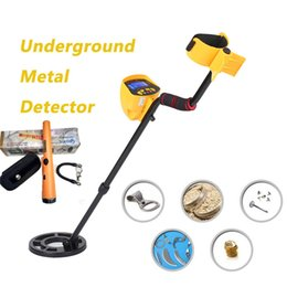 Wholesale detector for treasure - MD-3010II+ GP-POINTER underground metal detector for outdoor detection of archaeological treasure of gold and silver and bronze