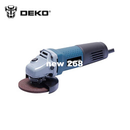 Wholesale Grinder Cutting Discs - 710W Hand Tool INTOP Angle Grinder Electric Sanding Discs Professional-grade Power Tools Cutting Grinder Machine Real Standard