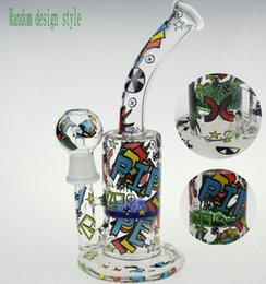 Wholesale Pattern Arts - SCRAWL BONG SKETCH BONG WATER PIPE DESIGNS SKETCH BONGS SKETCH DESIGNS ARTS WATER PIPE OUCHKICK BONG RANDOM DESIGH PATTERN WITH A GLASS BOWL