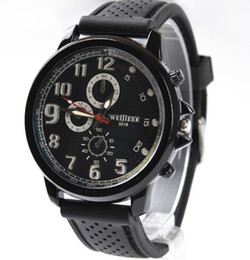 Relojes analógicos de gran deporte online-Al por mayor-Big dial 2014 relojes de moda casual marca de lujo reloj de negocios analógico hombres deporte cuarzo relojes de pulsera masculinos