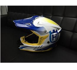 Wholesale Casco Road Helmets - HUSQVARNA Motocross Helmet Off Road Professional Rally Racing Helmets Men Motorcycle Helmet Dirt Bike Capacete Moto casco