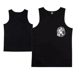 Wholesale Boys Summer Vests - Free Shipping BILLIONAIRE BOYS CLUB T-Shirt BBC Vest Men Hip Hop Cotton tshirt O Neck billionaire Tops summer tank top men