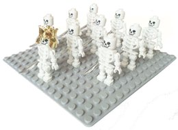 Wholesale Arms Swivels - 10pcs per set Minifigs Skeleton (Swivel Arms) minifigure nelegokin Building Block spaceman astronaut land force army
