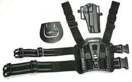 Wholesale Leg Holster 1911 - BlackHawk CQC 1911 Tactical Leg Holster Universal Drop Leg Pouch Drop Leg Pouch hold gun