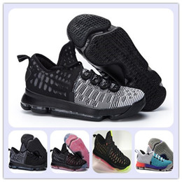 Wholesale Mic M - Kevin Durant Basketball Shoes KD 9 MIC DROP Black Black White PREMIERE Sports Shoes KD VIIII (9) Sneaker cheap Men Athletics wholesale price