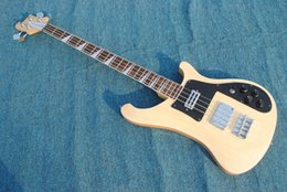 Wholesale Electric Guitar Ricken - Custom Wholesales Hot-selling OEM Ricken 4001 RARE wood vintage 4000 4003 4 String Electric Bass Guitar Musical Instruments free shipping
