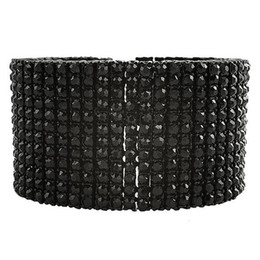 Wholesale Black Diamond Set Jewelry Ring - Men Iced Out Gold Finish 12 Row Lab Diamond Tennis Hip Hop Bracelet Fashion 2016 New Arrival Punk Rock Style Jewelry