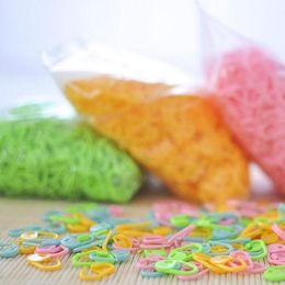 Wholesale Wholesale Stitch Markers - 100pcs set High Quality Plastic Markers Holder Needle Clip Craft Mix Mini Knitting Crochet Locking Stitch ZA4811