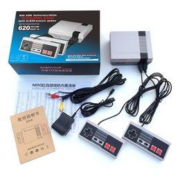 Wholesale Video Pads - New Retro Mini TV Handheld Game Console Video Game Console For Nes Games Built-in 620 Games PAL&NTSC dual gamepad pad