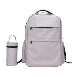 Wholesale Gray Shopping Bags - Quality Choice China Wholesale Baby Nappy Bag Backpack Online Shopping Good Quality Baby Product 300D Changing Bag Backpack Diaper Bag