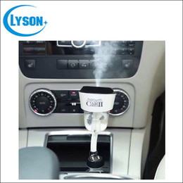 Wholesale new generation auto - 2016 New Generation II Nanum Car Plug Air Diffuser Auto Off Essential Oil Rechargeable Air Purifier Car Aromatherapy Humidifier