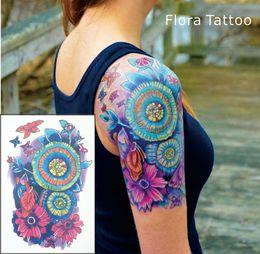 Rabatt Bunte Blumen Tattoos 2019 Bunte Blumen Tattoos Im Angebot