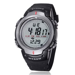 Wholesale Digital Wrist Watch Low Price - Wholesale-Large amount choices and lowest price Waterproof Outdoor Sports Men Digital LED Quartz Alarm Date Wrist Watches
