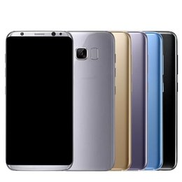 2017 8gb wifi Goophone S8 S8 + S8 Plus 5.8 pouces 6.2 pouces Octa Core 4 Go 64 Go 6 Go 128 Go 2960 * 1440 QHD Android 7.0 Appareil photo 12,0MP GPS WiFi Smart Phone budget 8gb wifi