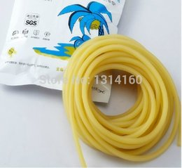 Wholesale Slingshot Replacement Bands - Wholesale-Wholesale - Length 10 Meters Rubber Latex Tube 44mm Diameter ELASTICA Bungee Slingshot Catapult Outdoor Hunting Replacement 1644