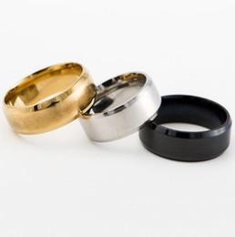 2019 pollice d'oro La coda dell'anello di barretta del titanio di modo squilla l'anello del pollice per i monili classici punk neri del vestito da partito di cerimonia nuziale del nero d'argento delle donne degli uomini DHL libera la nave sconti pollice d'oro