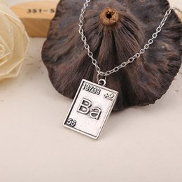 Wholesale Necklace Ideas - Television Breaking Bad couple necklace holiday gift ideas Pendant 2016 new European and American popular jewelry alloy new