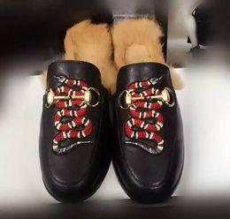 Wholesale Horsebit Loafers - Luxury Brand Horsebit Plush Wool Slippers Princetown In Pelle Foderata E Rifinita In Pelliccia Di Agnello BIRKENSTOCK Loafer Shoes Moccasins