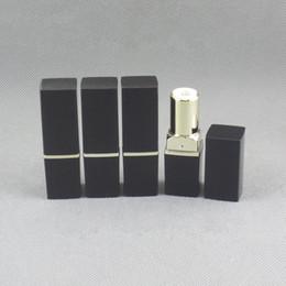 Wholesale Square Plastic Cup - empty high grade plastic lipstick tube ,black outter square shape inner silver DIY lipstick tube,Inner cup dia 12.1mm F20172243