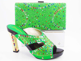 Wholesale Italy Women Leather Shoes - VIVILACE summer dress shoes Wholesale-FREE SHIPPING!Hot sell shoes matching bags ,Italy design shoe and bag set with shinning stones