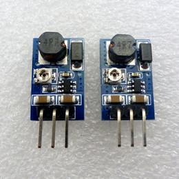 Wholesale Adjustable Step Down Module - 2pcs 1.2A mini DC DC Step Down Converter Module 5V to 4.2V 3.7V 3.3V 3V Adjustable Voltage Regulator repl AMS1117