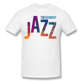 Wholesale Trendy S Love - Teenage Tees Fashion 2017 Tops & Tees Love Jazz Color Mens Fun T Shirts Dark Green 2017 New Trendy Crewneck Camiseta Clothing