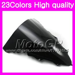 Wholesale Black Yamaha R1 - 23Colors Windscreen For YAMAHA YZFR1 12 13 14 YZF R1 YZF 1000 YZF1000 YZF-R1 2012 2013 2014 Chrome Black GPear Smoke Windshield